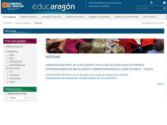 Educaragon Calendario Escolar 2020.I E S Pablo Serrano Inicio