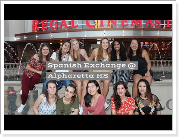 Spanish Exchange @ Alpharetta HS